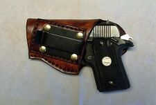 Left Hand IWB Concealment Holster for Colt Mustang and similar