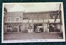 CPSM. MANSLE. 16 - Garage BOUYER. PEUGEOT. Station Service.