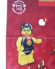 Lego 8831 Series 7 #1 SWIMMING CHAMPION figure Minifigure New Sealed Pack