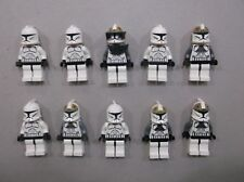 LEGO Clone Trooper Lot of 10 Star Wars Minifigure minifig Huge LOT Clone V93
