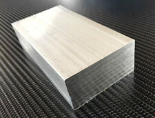 2'' X 1'' X 100MM ALUMINUM BAR BILLET ENGINEERING MODELMAKING MILLING LATHES