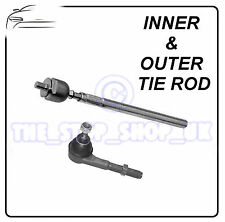 Peugeot 307 Citroen C4 06/2005- Inner & Outer Tie Rod End Steering Track Rod