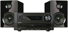 MICRO HiFi SYSTEM WITH BLUETOOTH, AM FM RADIO, STEREO SPEAKERS CD PLAYER USB