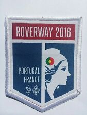 Roverway 2016 - Portugal Contingent Badge (White Border)