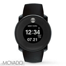 %100 AUTHENTIC NEW MOVADO BOLD TOUCH 2 DIGITAL GRAY IP UNISEX WATCH 3600365