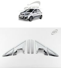 SAFE Chrome A&C Pillar Molding 6Pcs For KIA Picanto All New Morning 2011 2016+