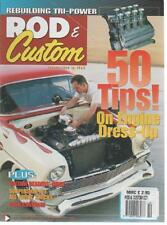 ROD & CUSTOM MAGAZINE October 2004 '56 Chevy 210 Sedan AL