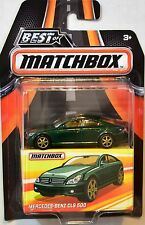 MATCHBOX 2017 BEST OF MATCHBOX MERCEDES-BENZ CLS 500 GREEN