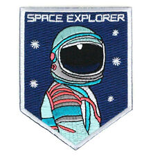 SPACE EXPLORER Patches ARMY MORALE BADGE Embroidery HOOK PATCH   LH+804