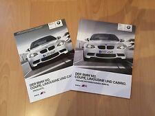 BMW M3 Limousine, Coupé und Cabrio Prospekt und Preisliste 03/2010