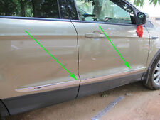 Chrome Body Door Side Molding cover trim for 2013-2015 FORD Escape kuga 2014