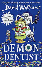 Demon Dentist, By Walliams, David,in Used but Acceptable condition