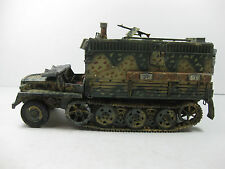 BUILT 1/35 SCALE GERMAN SWS FIELD MODIFIED STAFF COMMAND CENTER HALFTRACK