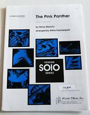 Partition Sheet Music HENRY MANCINI : The Pink Panther * Piano Tenor Saxophone
