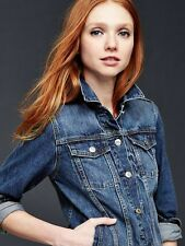 GAP NWT  SADDLE BLUE 1969 100% COTTON DENIM JACKET Sz SMALL ~ NEW