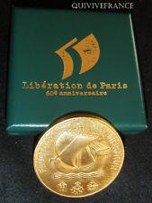 MED2289 - MEDAILLE 60° ANNIVERSAIRE LIBERATION DE PARIS par DELANNOY - MEDAL