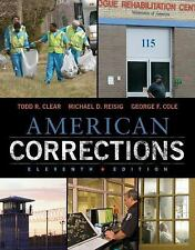 AMERICAN CORRECTIONS - NEW HARDCOVER BOOK