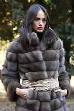 FUR COAT JACKET SABLE BARGUZINSKY PELZMANTEL FOURRURE PELLICCIA ZOBEL лиса 佐贝尔