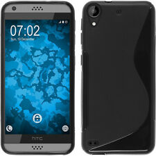 Black Soft S-Line Gel TPU Silicone Case Skin Cover For HTC Desire 530 630