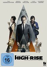 HIGH RISE   DVD NEU  TOM HIDDLESTON/LUKE EVANS/SIENNA MILLER/+