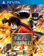 Used PS Vita One Piece Kaizoku Musou 3 Japan Import (Free Shipping)