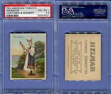 1912 T52 AMERICAN TOBACCO COSTUMES & SCENERY DALMATIA PSA 4.5 (2631)