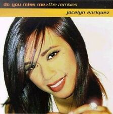 JOCELYN ENRIQUEZ Do You Miss Me reMixes 9x+1tr  CD Single 1996 Classified