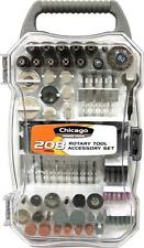 Rotary Tool Accessories Kit 208PC Assortment Kit, Polish, Grind, Cut Fits Dremel