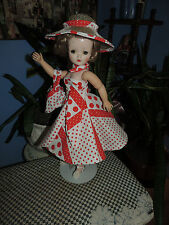 MADAME ALEXANDER CISSY LOTS OF POLKA DOTS OUTFIT 50 FASHION DOLL REVLON DOLIKIN