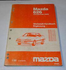 Werkstatthandbuch Mazda 626 Allrad / 4WD Typ GD/GV Karosserie Klima, St.01/1990