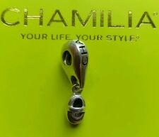 Genuine Chamilia silver 925 baby shoe bootie bracelet charm dangle GH-10