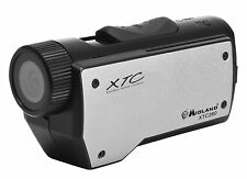 Midland Action Camera Wearable Submersible Mountable HD 720p Black Silver New