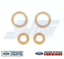 94.5-03 OEM Genuine Ford 7.3L Powerstroke Diesel Turbo Pedestal Yellow O-rings