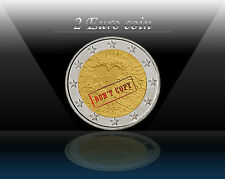 "FINLAND 2 EURO coin 2008 "" Human Rights "" UNCIRCULATED"