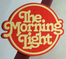 THE MORNING LIGHT RED YELLOW  MUSIC STICKER