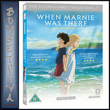 WHEN MARNIE WAS THERE -  The Studio Ghibli Collection *BRAND NEW DVD**
