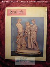 REALITES August 1955 Sex ART ST. BENOIT FRENCH Vacation