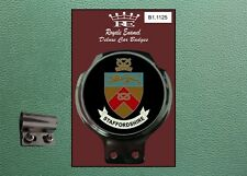 Royale Classic Car Badge & Bar Clip COUNTY of STAFFORDSHIRE B1.1125