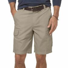 Chaps Men  Cargo  Shorts Size 46B Hudson Tan Color, 100% Cotton Retail Price $70