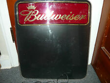 Budweiser Lighted Dry Erase Board