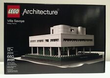 LEGO Architecture 21014-Villa Savoye-Brand New, Factory Sealed in Mint Condition