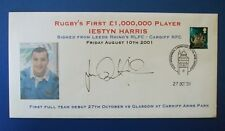 2001 RUGBYS 1ST ONE MILLION POUND PLAYER SIGNED BY IESTYN HARRIS