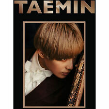 SHINEE TAEMIN-[PRESS IT] 1stAlbum CD+Photo Booklet+PhotoCard+Poster K-POP Sealed