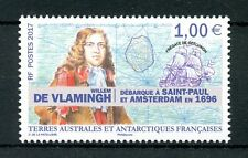 FSAT TAAF 2017 MNH Willem de Vlamingh 1v Set Ships Exploration Stamps