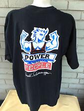 VTG Arnold Schwarzenegger Planet Hollywood T-Shirt XL Celebrity Edition USA