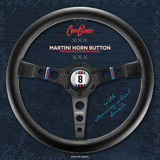 MARTINI HORN BUTTON FOR MOMO STEERING WHEEL 911 porsche ferrari lamborghini bmw