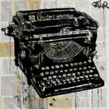 Loui Jover The Underwood Vintage Typewriter Technology Print Poster 14x11