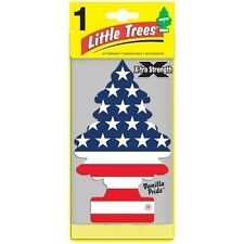 Lot of 12 Little Trees Car Hanging Air Freshener Extra Strength Vanilla Pride
