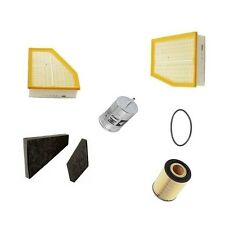 VW Phaeton 04-06 W12 6.0L Cabin Air Fuel Engine Oil Filters Tune Up Kit