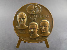 Collectible Coin Medallion Appolo 14 Smerald Roosa Mitchel 1971(W8-1)